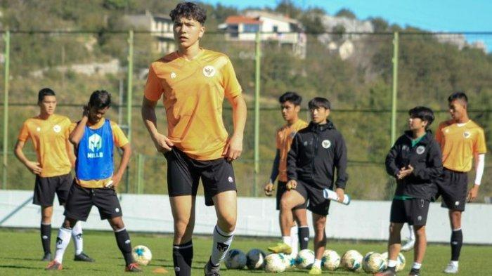 Luah Fynn Jeremy Mahesa, pemain keturunan Jerman yang dipanggil Shin Tae-yong untuk mengikuti pemusatan latihan Timnas U-19 Indonesia di Kroasia.