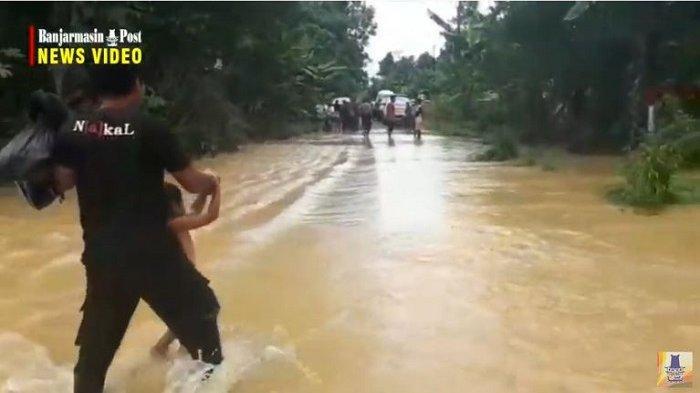 Sekda Tabalong AM Sangadji Sebut Banjir Terparah Sejak 20 Tahun Terakhir