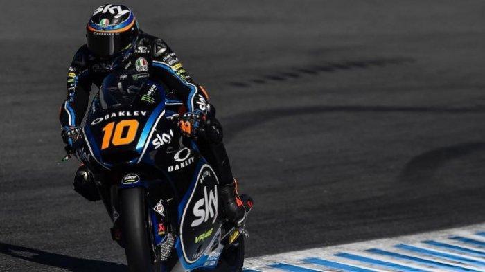 Hasil Kualifikasi Moto2 MotoGP Jepang 2019: Adik Valentino Rossi Pole Position, di Mana Dimas Ekky?