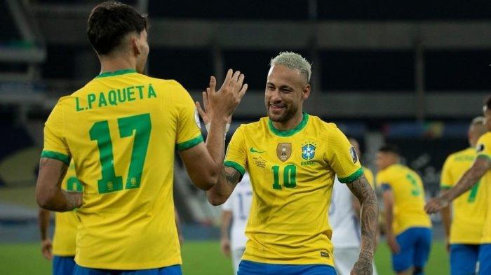 Hasil Brazil vs Chile di Copa America 2021 1-0, Pengganti Firmino Jadi  Pahlawan, Gabjes Kartu Merah - Banjarmasin Post