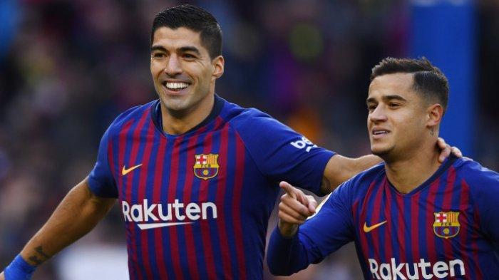 Hasil Barcelona vs Real Madrid El Clasico Liga Spanyol 2018, 2 Gol Barcelona di Babak Pertama