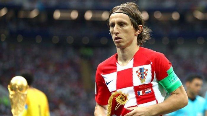 Luka Modric Raih Gelar Pemain Terbaik Usai Prancis Juara Piala Dunia 2018 dan Kalahkan Kroasia 4-2