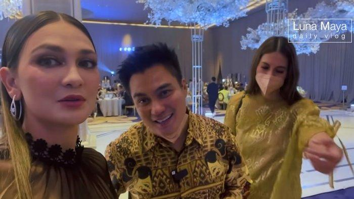 Kekayaan Calon Suami Luna Maya Ditanyakan Baim Wong, Suami Paula Verhoeven: 'Aku Jodohin Aja'