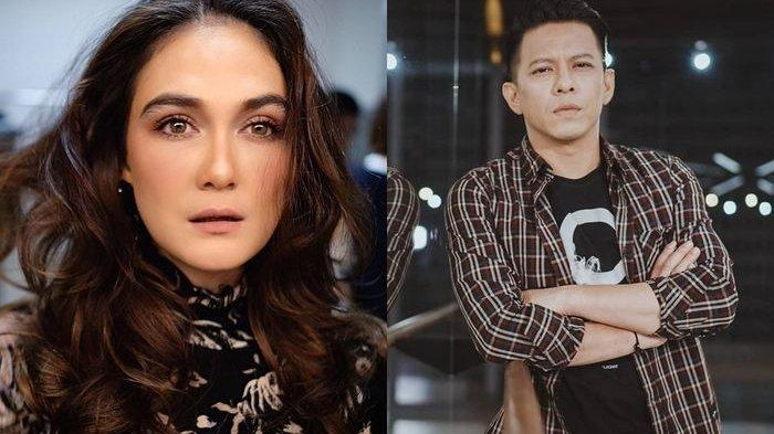 Reaksi Luna Maya Saat Ayu Dewi Gandeng Ariel NOAH dan Berpapasan di Dahsyatnya Awards 2019