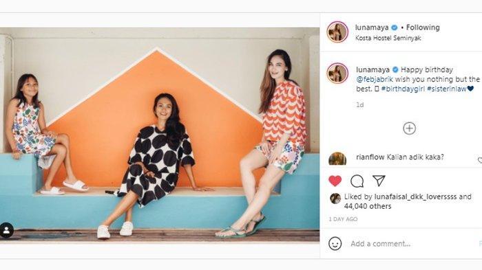 Intip Kekayaan Kakak Ipar Luna Maya, Feby Jabrik Ucap Ini Di Momen Ulang Tahun