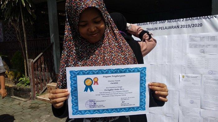 Kalah Jarak Zonasi, Mayetih Protes Anaknya Tidak Lulus di SMPN 5 Banjarmasin, Begini Jawaban Sekolah