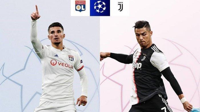 LIVE Streaming TV Online Lyon vs Juventus di Liga Champions Malam Ini, Cristiano Ronaldo Main