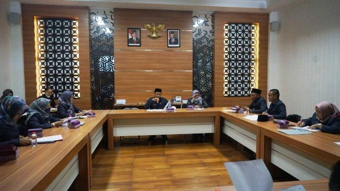 Rapat Bersama, Banmus DPRD Barito Kuala Bahas Sejumlah Agenda Agustus 2021