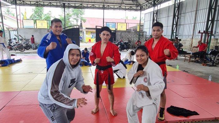 Seleksi untuk Asian Championship, Dua Atlet Sambo asal Tapin Ikuti Kejurnas di Bandung