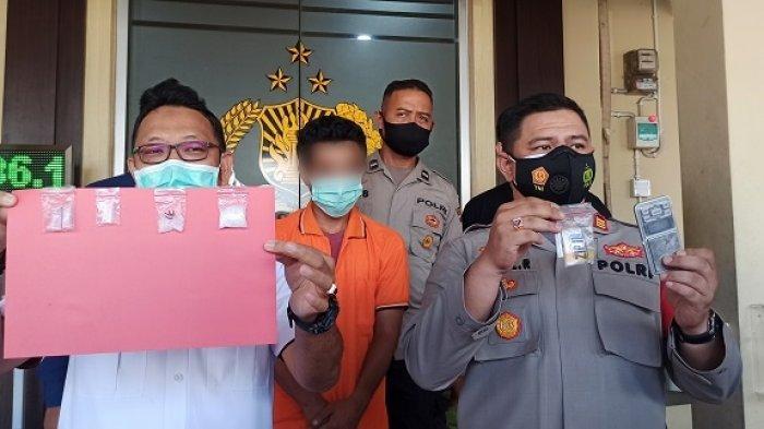 Narkoba kalsel : Polisi Tangkap Mambo di Rumah, Pria Banjarmasin Ini Simpan 5 Paket Sabu