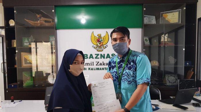 Mahasiswa Banjarmasin Bantu Masyarakat Terdampak Covid-19 Melalui Baznas Kalsel
