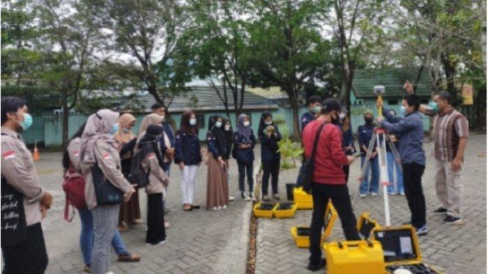 Tingkatkan Kelahlian Ilmu Ukur Lahan, Mahasiswa Prodi Geografi FISIP ULM Gandeng BPN Kalsel