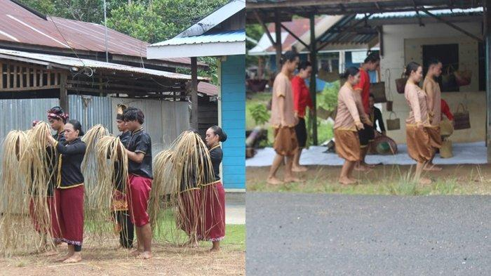 Syuting Depan Kamera di Kampung Purun Banjarbaru, Mahasiswi STIKIP PGRI Banjarmasin Ini Sempat Gugup