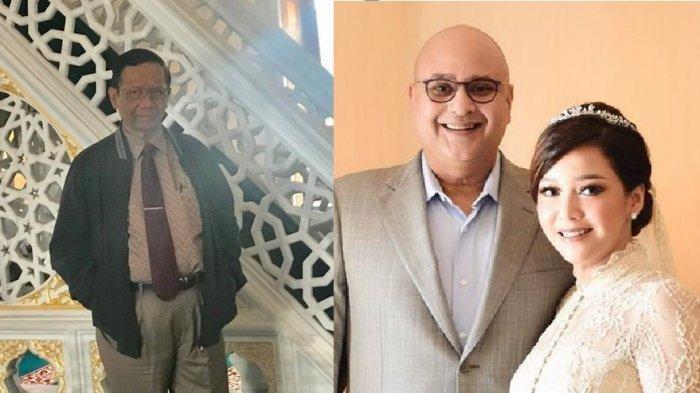 Usai Kabar Maia Estianty Hamil, Mahfud MD Komentari Pernikahan Maia dan Irwan Mussry?