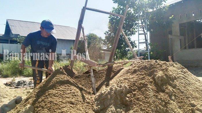 Pasutri Difabel di Kabupaten Tapin, Memenuhi Kehidupan Sehari-hari dari Hasil Kerja Serabutan