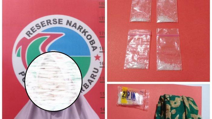 Narkoba Kalsel, Sering Transaksi Narkoba, Mak Yus Dilaporkan Warga ke Polres Banjarbaru