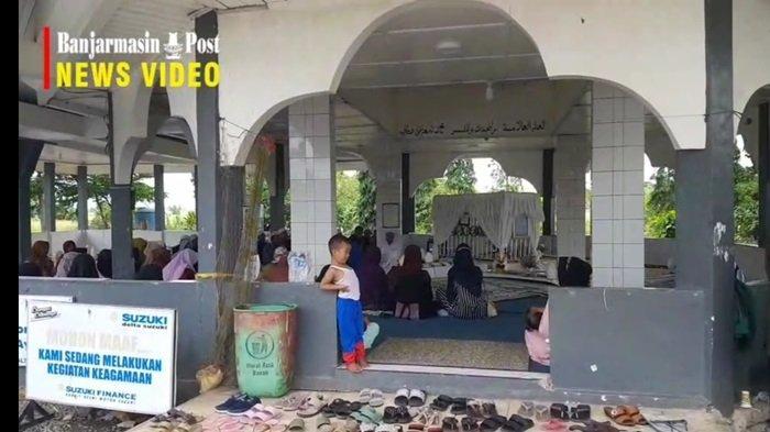 Ada Makam Ulama Besar Banjar KH Anang Sya'rani Arif dan Tuan Haji Nasir, Tak Pernah Sepi Peziarah