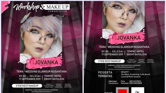 Gelar Pelatihan Make Up, Komunitas Make Up Tanbu Datangkan MUA Jovanka