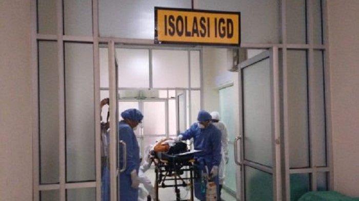 BREAKING NEWS : ABK Kapal China Diduga Terinfeksi Virus Corona, Dirujuk ke RSUD Kotabaru Kalsel