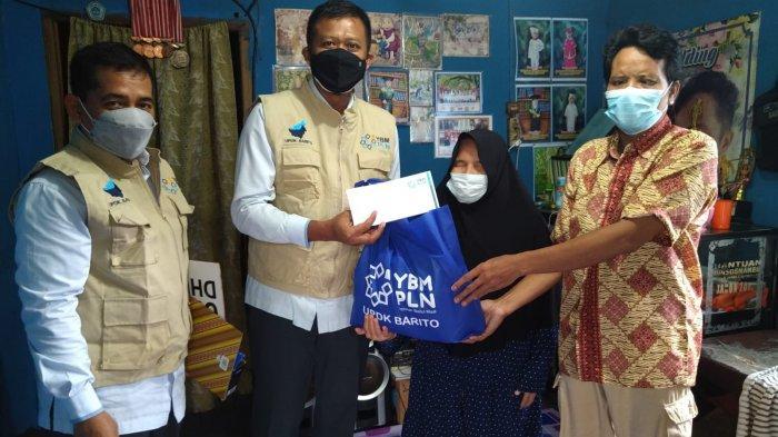 PLN UPDK Barito Peduli Masyarakat Terdampak Covid-19, Beri Bantuan untuk Disabilitas dan Dhuafa