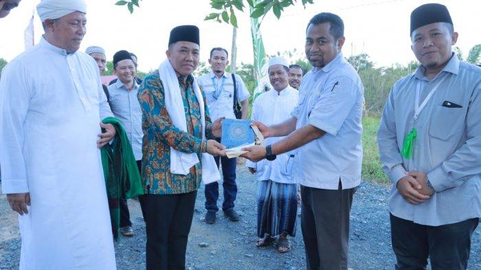 Bupati TanahBumbu Resmikan Rumah Tahfizh Leadership Arutmin Indonesia Tambang Batulicin