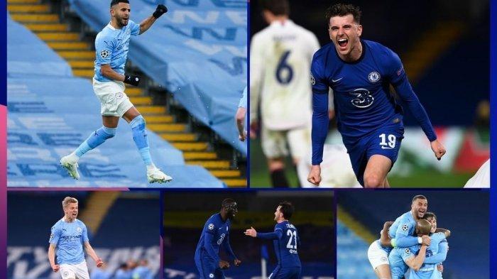 Jadwal Man City vs Chelsea Final Liga Champion Live SCTV, Tuchel Siapkan Mount, Werner & Kai Havertz