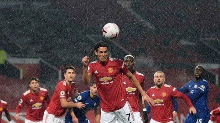 Susunan Pemain Southampton vs Man United & Live Streaming TV Online Liga Inggris, Cavani Main