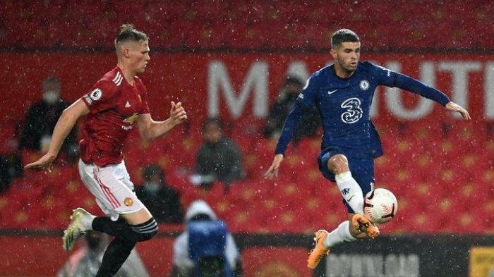 Duel Liga Inggris pekan 6 antara Man United vs Chelsea yang dihelat di Stadion Old Trafford, Sabtu (24/10/2020)