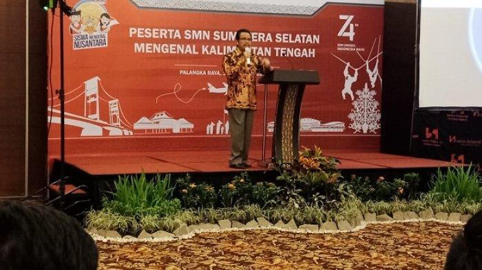 Pelajar Sumsel dan Kalteng Saling Bertemu, Mantan Gubernur Apresiasi Program Mengenal Nusantara