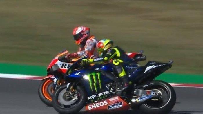 Jadwal MotoGP Virtual, Valentino Rossi & Marc Marquez Beradu Balap di Video Game Jelang MotoGP 2020