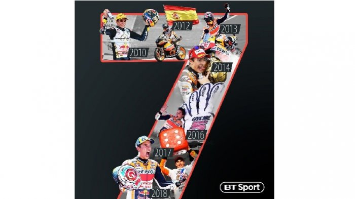 Hasil MotoGP Jepang 2018, Marc Marquez Raih Juara Dunia MotoGP Kelimanya, Rossi?