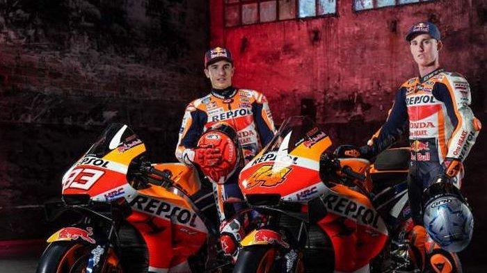 Jadwal MotoGP Portugal 2021 Live Trans 7, Momen Pertemuan Marc Marquez & Valentino Rossi