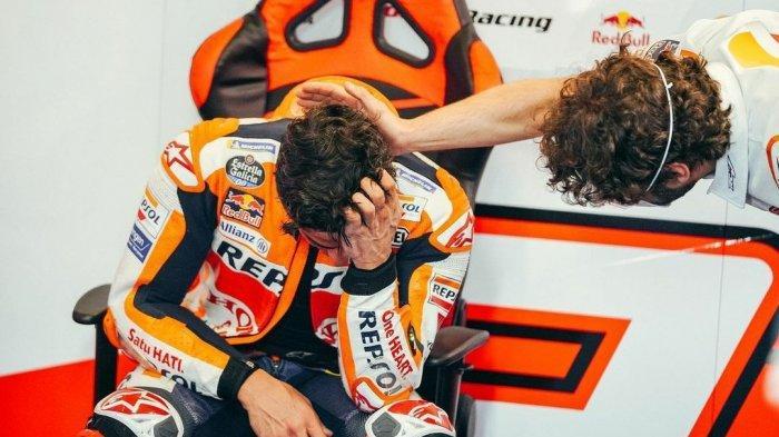 Marc Marquez & Valentino Rossi Melorot di Hasil MotoGP 2021 Sesi FP2, Bagnaia Tercepat