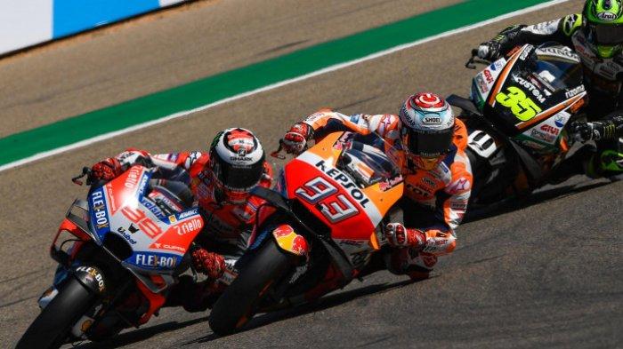 Jadwal FP1 & FP2 MotoGP Aragon 2021 Hari Ini Live Streaming Fox Sports 2, Race Live Trans 7