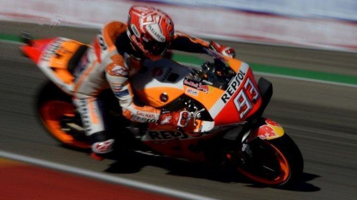 Jadwal MotoGP Aragon 2021 Live Trans7, Ajang Kebangkitan Marquez Usai Insiden dengan Jorge Martin