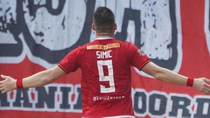 Hasil Liga 1 Persija vs Persela, Marco Simic Cetak Gol dari Penalti, Skor 1-0 dibabak Pertama