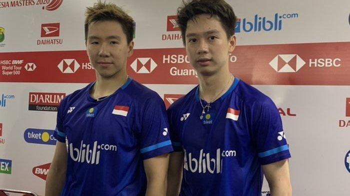 Hasil Indonesia Masters 2020 - Tekuk Juara SEA Games, Marcus/Kevin Ciptakan All-Indonesian Finals