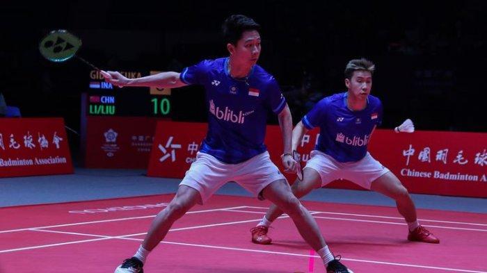 Jadwal Malaysia Masters 2020 Kamis 9 Januari 2020 - Marcus/Kevin Vs Aaron/Soh Main, Pasti Seru!