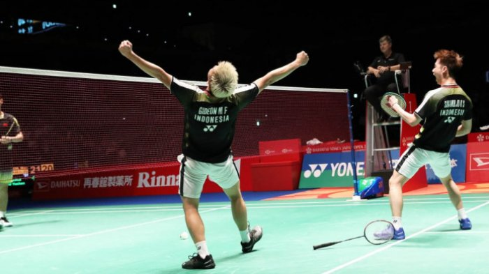 Link Live Streaming Badminton French Open 2018 (Perancis Terbuka) Babak Final, Marcus/Kevin vs China