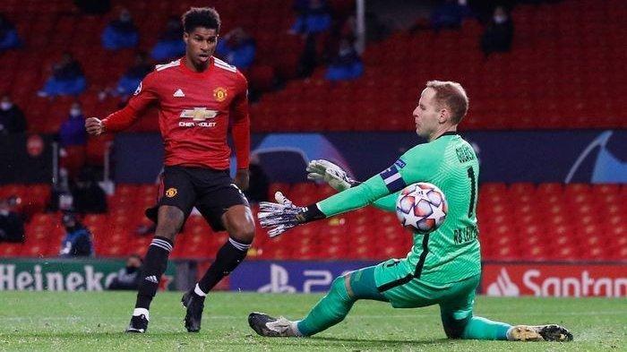 Marcus Rashford berhasil mencetak hat-trick sebagai pemain pengganti dan mengantarkan Manchester United menang 5-0 atas RB Leipzig.
