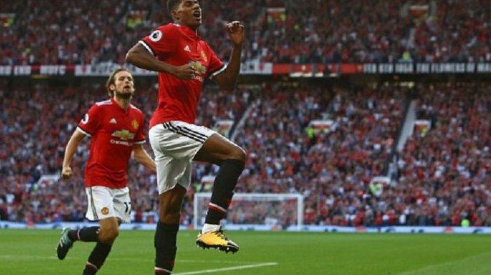 Hasil Liga Inggris Tottenham Hotspour vs Man United, Rashford Menangkan Man United, Skor Akhir 0-1