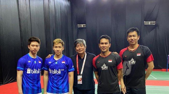 Klasemen & Hasil Badminton Olimpiade Tokyo, Marcus/Kevin, Ahsan/Hendra & Greysia Poli/Apriyani Lolos