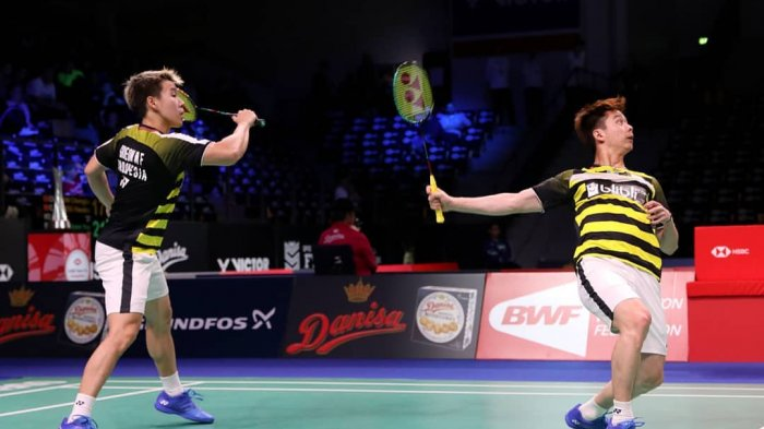 Link Live Streaming Final Denmark Open 2018, Marcus/Kevin vs Takeshi Kamura/Keigo Sonoda
