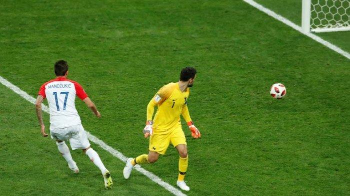 UPDATE GOL Prancis vs Kroasia Final Piala Dunia 2018 Skor 4-2, Gol Mario Mandzukic!