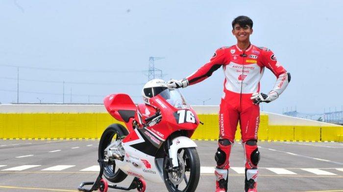 Mario Suryo Aji pebalap Astra Honda Racing Team (AHRT).