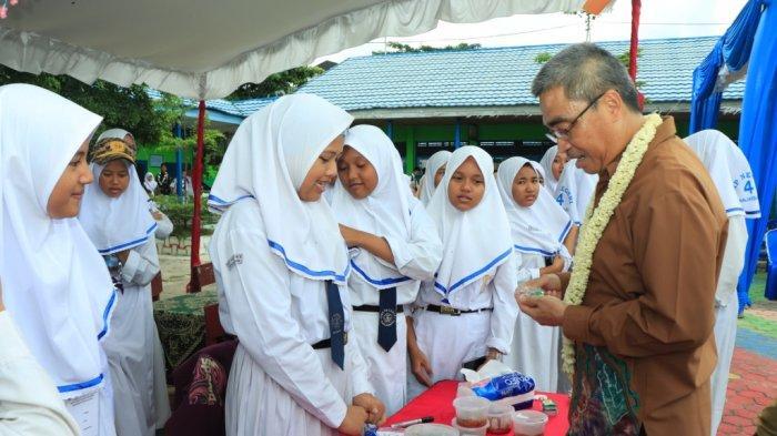 Market Day di SMPN 4 Banjarbaru, Ini Harapan Wakil Wali Kota Banjarbaru