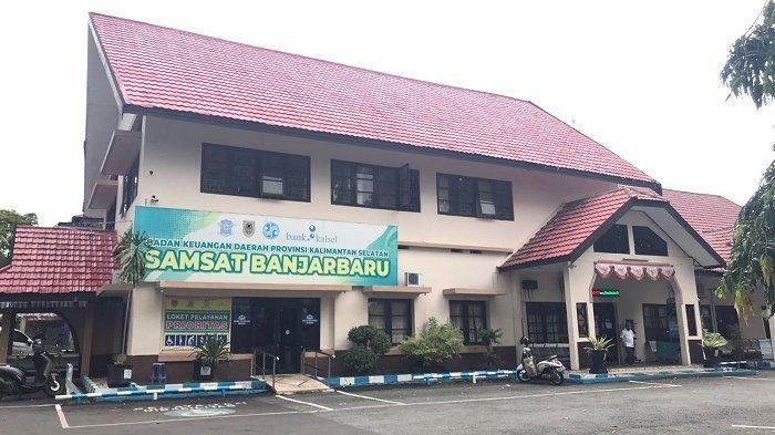 ilustrasi kantor Samsat Banjarbaru.