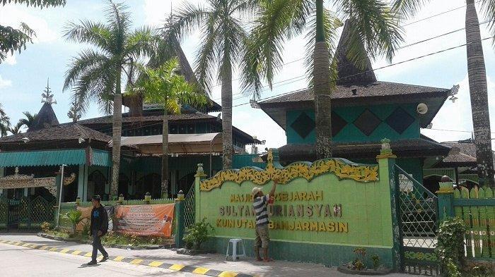 Malam Ganjil 10 Akhir Ramadhan di Masjid Sultan Suriansyah, 100 Jemaah Ikuti Ibadah Malam