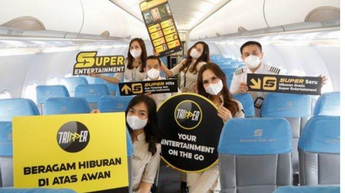 Tawaran Bagi Penumpang Super Air Jet Berupa Tes PCR Murah Rp 285 Ribu
