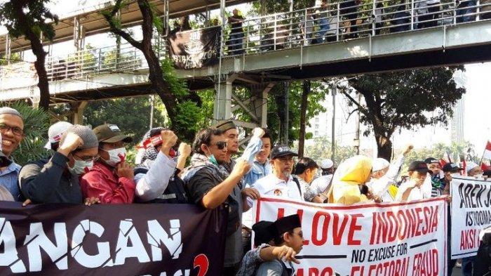 Kisah Massa Saat Sidang Hasil Putusan MK Sengketa Pilpres 2019, Ini Imbauan Kapolri Tito Karnavian